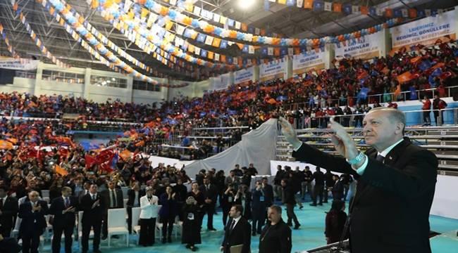 Cumhurbaşkanı Erdoğan Şanlıurfalı kadınlarla Bir Araya Geldi