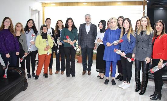 Dicle Elektrik 8 Mart Dünya Kadınlar Günü'nü kutladı