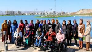 Dünya Kadınlar Gününde engelli kadınlar da unutulmadı