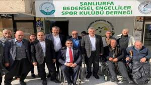 Engelliler Dernek Başkanlarından AK Başkan adayına teşekkür