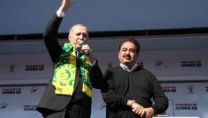 Erdoğan'dan İbrahim Tatlıses ile birlikte şarkı sürprizi