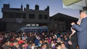 Eyyübiye'de Ak Parti Oy Rekoruna Koşuyor