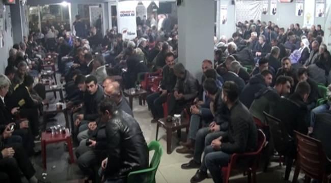 Hilvan'da Ak Partiye Katılımlar Devam Ediyor