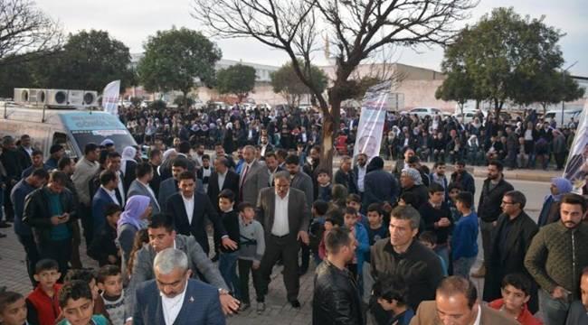 Karageçili'nin Seçim Bürosu Tekbirlerle Açıldı