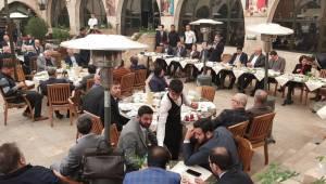 Nebati Şanlıurfa'da Çeşitli Ziyaretlerde Gerçekleştirdi