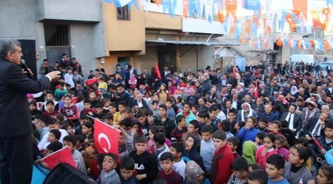 Necmeddin Sağlam'ın Seçim Bürosu Açıldı