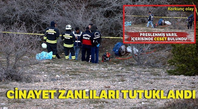 Presli varil cinayeti zanlıları tutuklandı