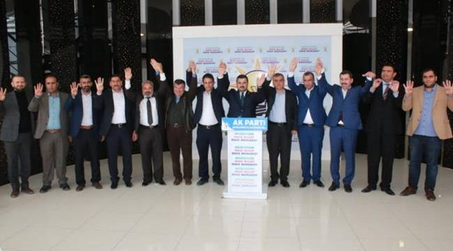 Saadet Partisinden AK Partiye Katılım