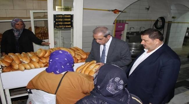 Şanlıurfa Aşevine 1 Milyon Ekmek Yardımı