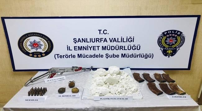 Şanlıurfa'da Eylem Hazırlığındaki Teröristler Yakalandı