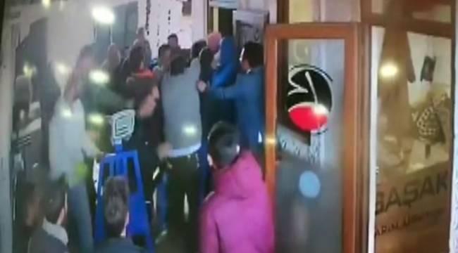 Şanlıurfa Hal Pazarında Taşlı Sopalı Kavga