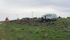 Siverek'te trafik kazası: 5 yaralı