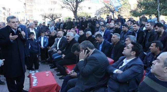 Tapşık'ın Seçim Bürosu Açılışı Mitinge Dönüştü