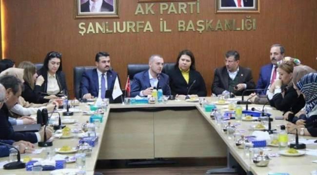 Teşkilat Başkanı Kandemir Şanlıurfa'ya Geldi