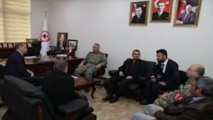 Tuğgeneral AĞBUGA'dan Şehit Aileler Derneğine Ziyaret