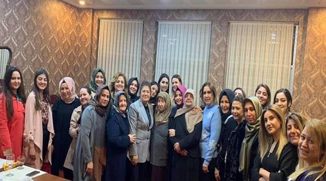 Urfa KADEM Üyelerinden AK Partiye Destek