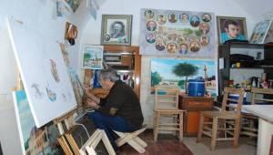 Urfalı Ressam Şanlıurfa Tarihini Yaşatıyor