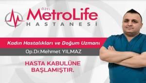 Uzman Dr Mehmet Yılmaz Hasta Kabulüne Başladı