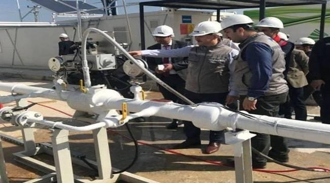 Viranşehir'de doğalgaz sevinci