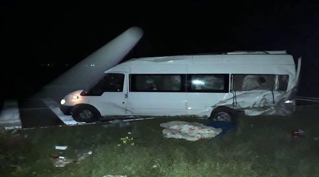 Viranşehir'de Trafik Kazası 8 Yaralı