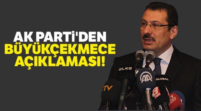 AK Parti'den Büyükçekmece açıklaması