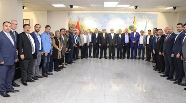 Ak Parti Yönetiminden Beyazgül'e Ziyaret