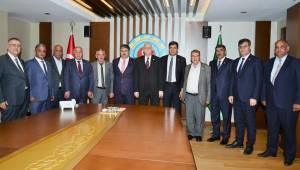 Başkanlardan Bayraktar'a Ziyaret