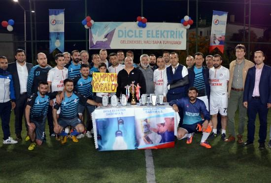 Geleneksel Dicle Elektrik futbol turnuvası başlıyor