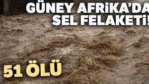 Güney Afrika'da sel ve toprak kayması 51 ölü