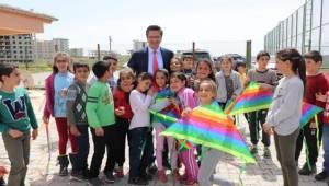 Halfeti'de Uçurtma Şenliği Etkinliğini Düzenlendi
