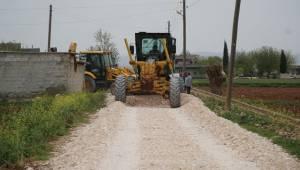 Haliliye'de 4 Mahallede Yol Çalışması
