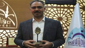 Mehmet Kuş'a Beytülmal Anahtarı Verildi