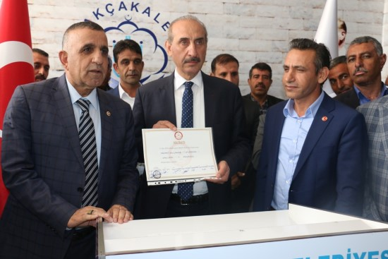 Mehmet Yalçınkaya, göreve başladı