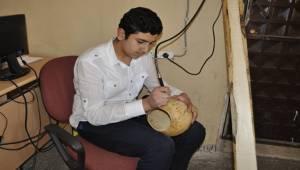 Öğrenciler Su Kabaklarından Eserler Oluşturuyor