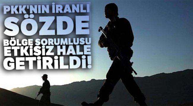 PKK'nın İranlı sözde bölge sorumlusu etkisiz hale getirildi