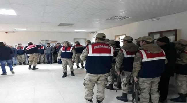 Şanlıurfa'da Suç Örgütüne Operasyon 27 Gözaltı