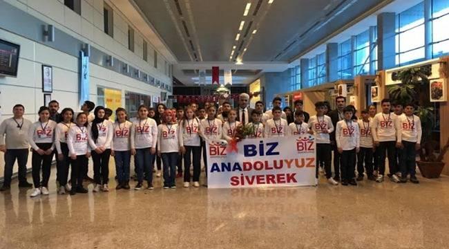 Siverekli Öğrenciler İstanbul ve Trabzon'a Uçuyor