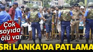 Sri Lanka'da patlama 185 ölü var