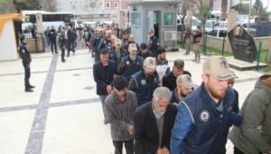 Terör operasyonunda gözaltına alınan 23 kişi serbest kaldı