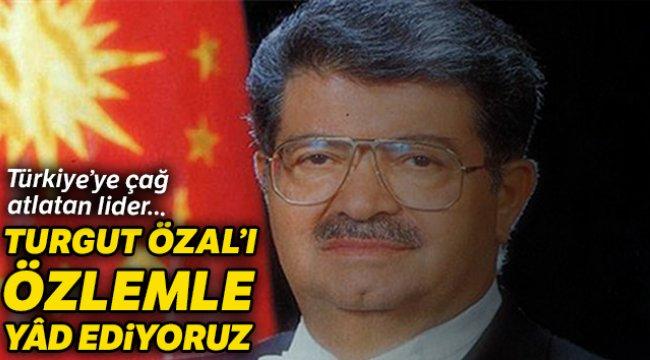 Turgut Özal Türkiye'ye çağ atlattı