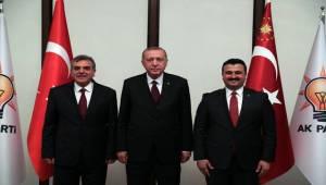 Yıldız ve Beyazgül'den Erdoğan'a Ziyaret