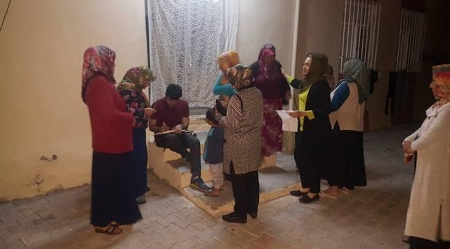 Bozova Belediyesinden 500 Aileye Yardım