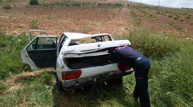 Bozova'da Kaza 2 Yaralı
