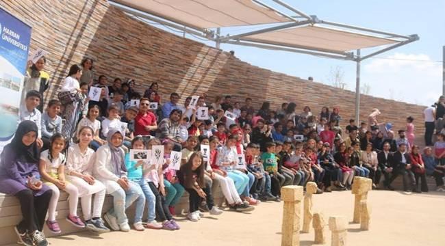 Çocuklar Göbeklitepe Şenliği'nde Eğlenceye Doydu