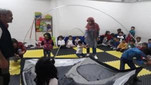 Çocuklara Doğa Sporları ve Kampçılık Tanıtıldı