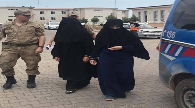 DEAŞ üyesi 2 Kadın Terörist Yakalandı