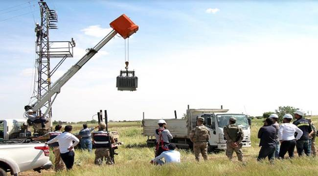 Dicle Elektrik Kaçak Trafoları Topluyor