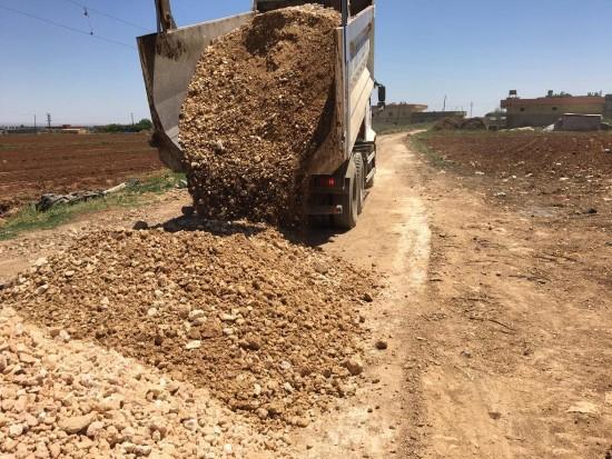 Eyyübiye'de yol atağı