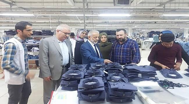 Harran Üniversitesi Yönetimi İşletmeleri Ziyaret Ediyor