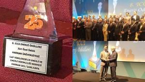 Harran Üniversitesine Ödül Verildi